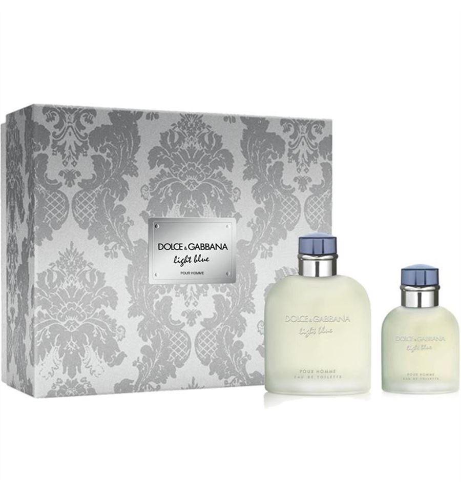 Dolce & Gabbana Light Blue pour Homme, toaletní voda 125ml + toaletní voda 40ml, Dárková sada