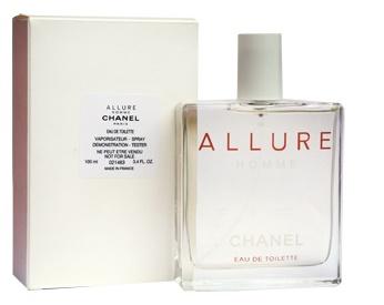 Chanel Allure Homme, Toaletní voda - Tester, 100ml, Pánska vôňa