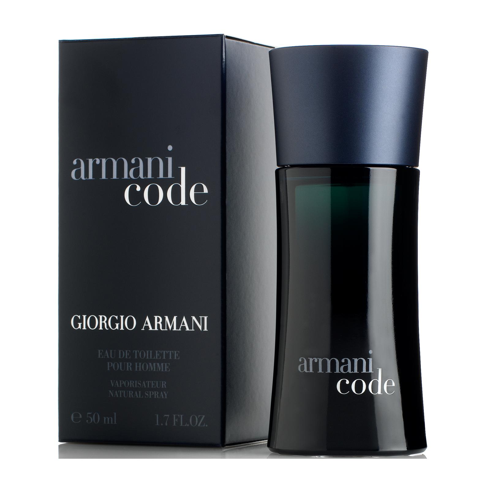 Giorgio Armani Black Code, 50ml, Toaletní voda