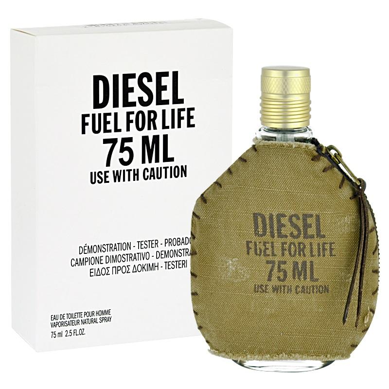 Diesel Fuel For Life Homme, Toaletní voda - Tester, 75ml, Pánska vôňa
