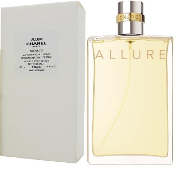 Chanel Allure, Toaletní voda - Tester, 100ml, Dámska vôňa