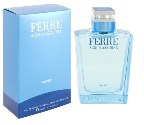 Gianfranco Ferre Acqua Azzurra, 50ml, Toaletní voda