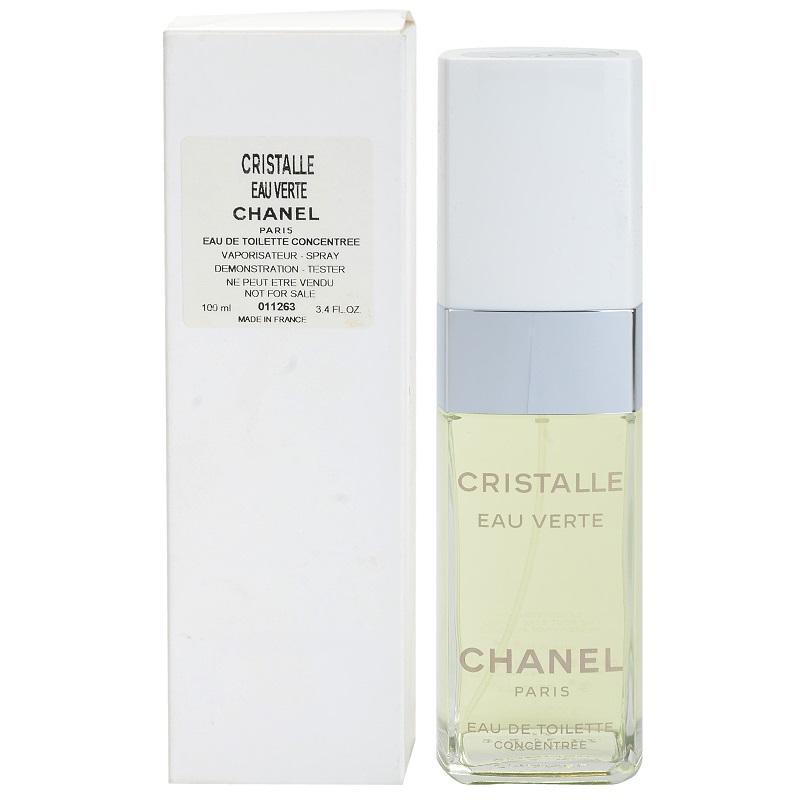 Chanel Cristalle Eau Verte, 100ml, Toaletní voda - Tester