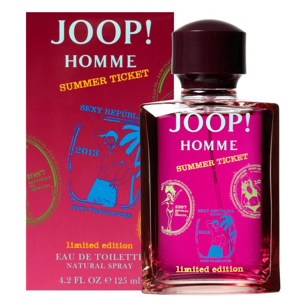 Joop Homme Summer Ticket, 125ml, Toaletní voda