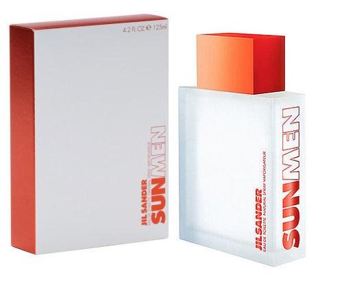 Jil Sander Sun for Men, Toaletní voda, 125ml, Pánska vôňa