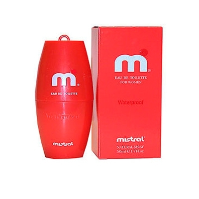 Mistral Waterproof For Woman, 100ml, Toaletní voda