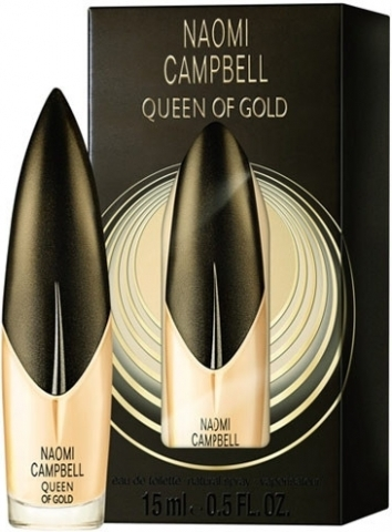 Naomi Campbell Queen Of Gold, 15ml, Toaletní voda
