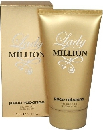 Paco Rabanne Lady Million, 150ml, Sprchový gel