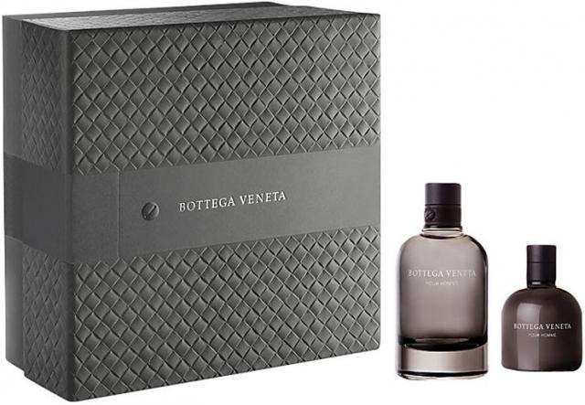 Bottega Veneta pour Homme, Dárková sada, toaletní voda 90ml + balzám po holení 100ml , Pánska vôňa