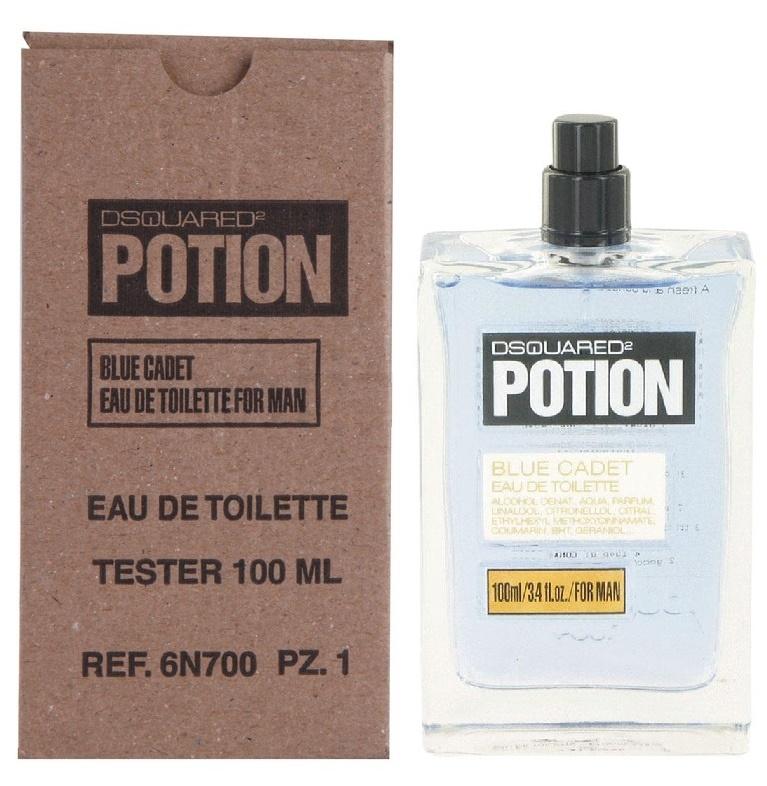Dsquared2 Potion Blue Cadet, 100ml, Toaletní voda - Tester