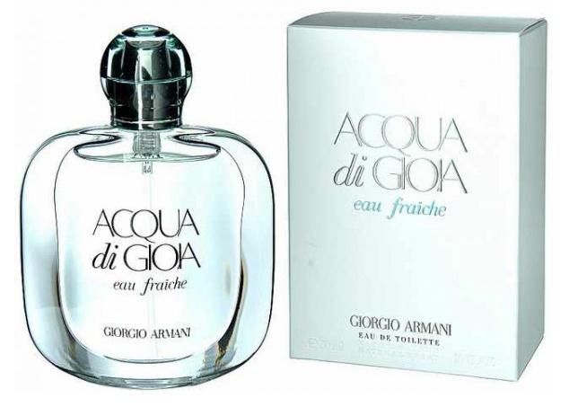 Giorgio Armani Acqua di Gioia Eau Fraiche, 50ml, Toaletní voda