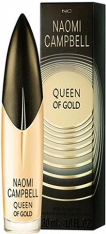 Naomi Campbell Queen Of Gold, 30ml, Toaletní voda