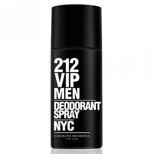Carolina Herrera 212 VIP Men, Deodorant, Pánska vôňa, 150ml