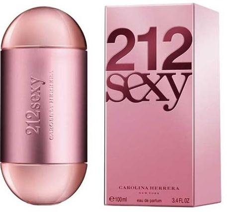 Carolina Herrera 212 Sexy, 100ml, Parfémovaná voda