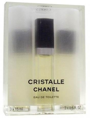 Chanel Cristalle, 3x15ml, Toaletní voda