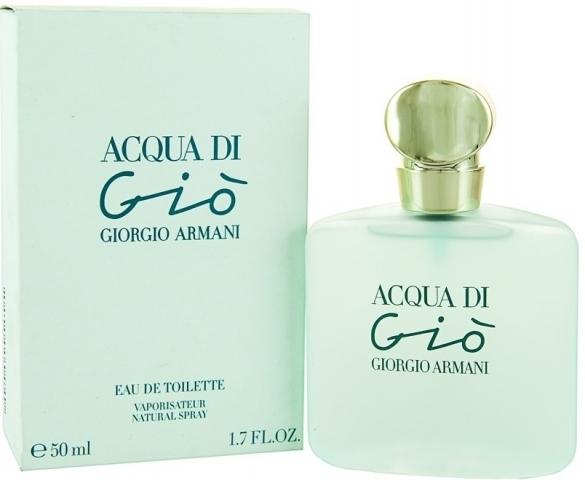 Giorgio Armani Acqua di Gio pour Femme, Toaletní voda, Dámská vůně, 50ml