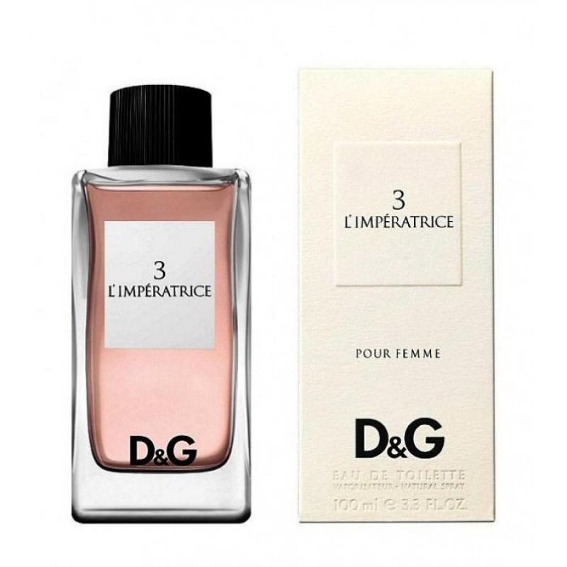 Dolce & Gabbana 3 L`Imperatrice, 100ml, Toaletní voda