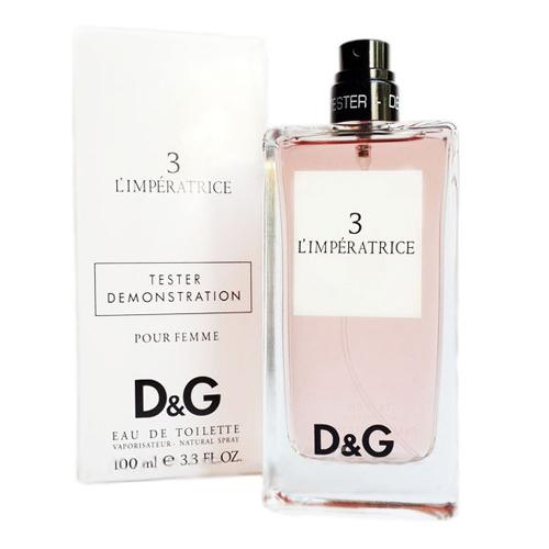 Dolce & Gabbana 3 L´Imperatrice, 100ml, Toaletní voda - Tester