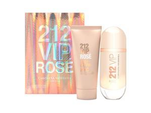 Carolina Herrera 212 VIP Rose, Dárková sada, Dámska vôňa, parfémovaná voda 80ml + tělové mléko 100ml (Travel set)