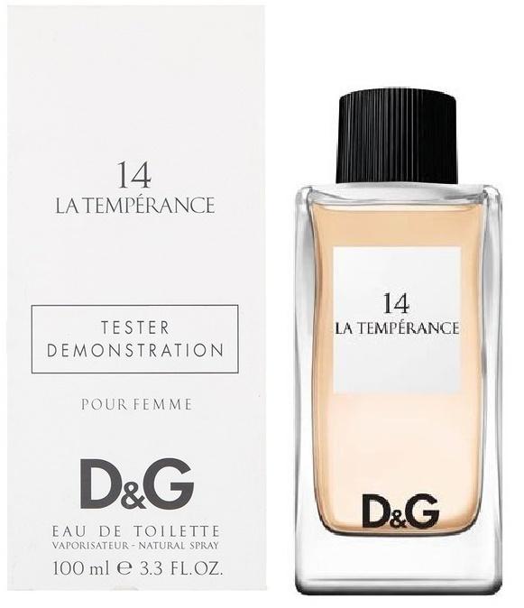 Dolce & Gabbana 14 La Temperance, 100ml, Toaletní voda - Tester