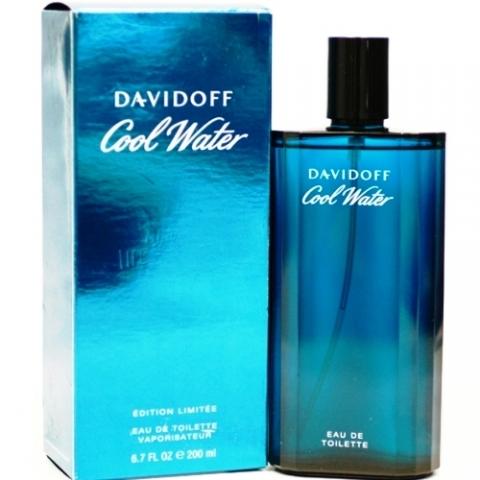 Davidoff Cool Water Man, 200ml, Toaletní voda