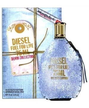 Diesel Fuel for Life Denim Femme, Toaletní voda, Dámská vůně, 75ml