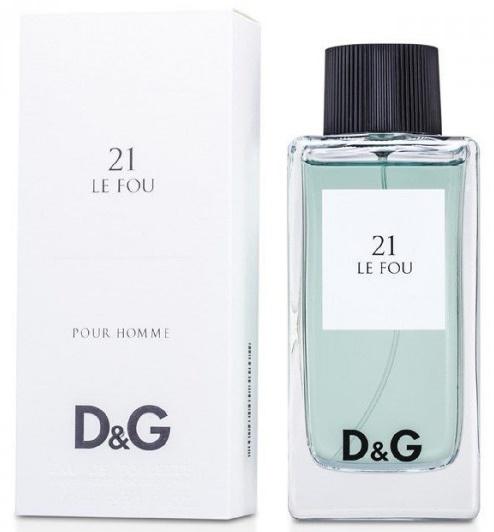Dolce & Gabbana 21 Le Fou, 100ml, Toaletní voda - Tester
