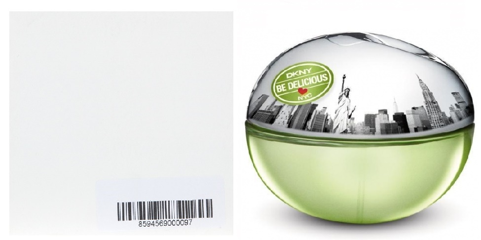 DKNY Be Delicious Love New York, 50ml, Parfémovaná voda - Tester