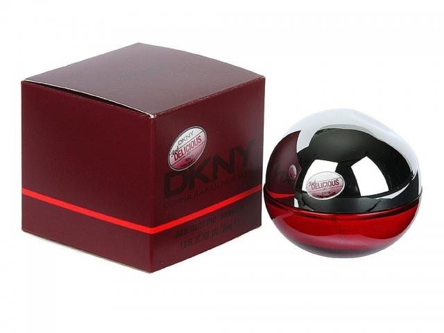 DKNY Red Delicious Men - bez celofánu, Toaletní voda, 100ml, Pánska vôňa
