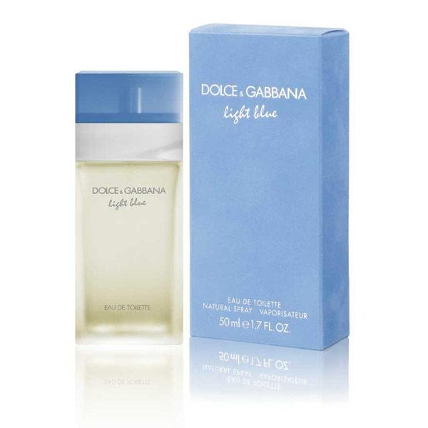 Dolce & Gabbana Light Blue, Toaletní voda, 50ml, Dámska vôňa
