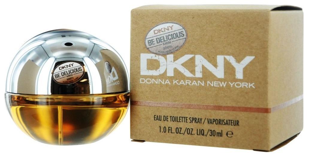 DKNY Be Delicious pour Homme, Toaletní voda, 30ml, Pánska vôňa