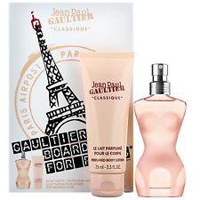 Jean Paul Gaultier Classique, Dárková sada, toaletní voda 50ml + tělové mléko 75ml, Dámska vôňa