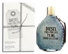 Diesel Fuel For Life Denim Homme, 75ml, Toaletní voda - Tester