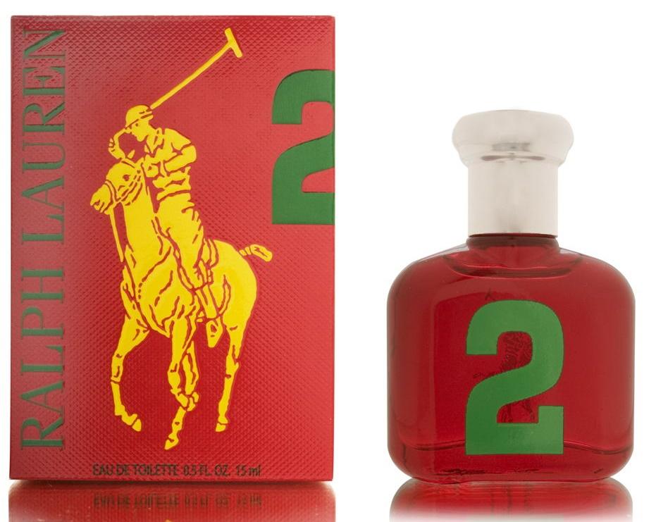 Ralph Lauren Big Pony 2 Red Man (bez rozprašovača), 15ml, Toaletní voda