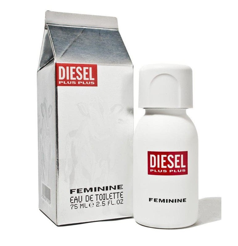 Diesel Plus Plus Feminine, 75ml, Toaletní voda