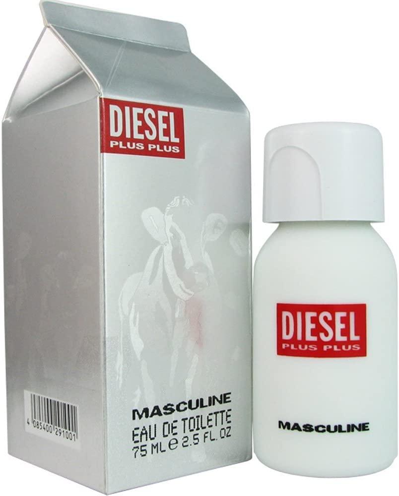 Diesel Plus Plus Masculine, 75ml, Toaletní voda