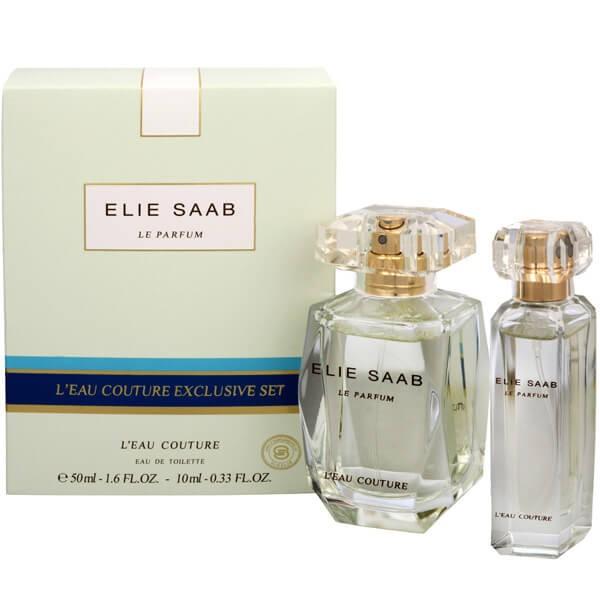 Elie Saab Le Parfum L´Eau Couture, Dárková sada, toaletní voda 50ml + toaletní voda 10ml, Dámska vôňa