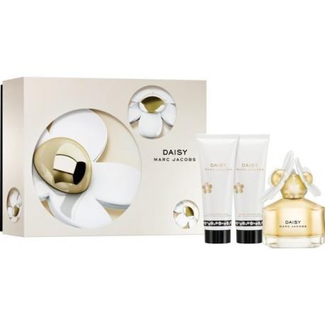 Marc Jacobs Daisy, Dárková sada, Dámska vôňa, toaletná voda 50ml + telové mlieko 75ml + sprchový gél 75ml