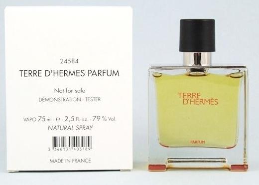 Hermes Terre D´Hermes Parfum, 75ml, Parfémovaná voda - Tester