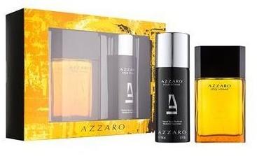 Azzaro Azzaro pour homme, Dárková sada, toaletní voda 100ml + deospray 150ml, Pánska vôňa