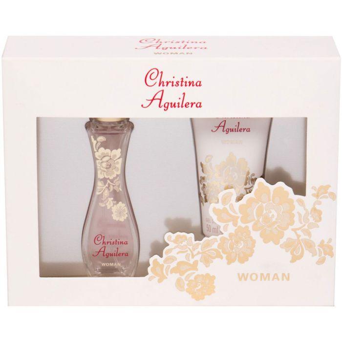Christina Aguilera Christina Aguilera, Dárková sada, Pro ženy, parfémovaná voda 30ml + sprchový gel 50ml
