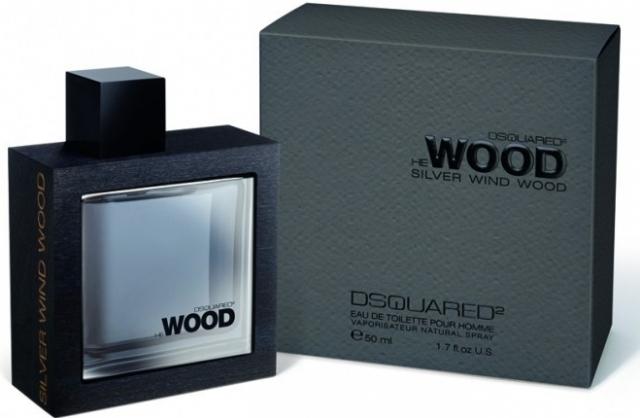 Dsquared2 He Wood Silver Wind Wood, Toaletní voda, 50ml, Pánska vôňa