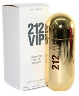 Carolina Herrera 212 VIP, Parfémovaná voda - Tester, Dámska vôňa, 80ml