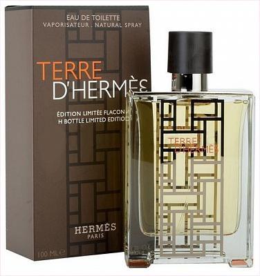 Hermes Terre D´Hermes H Bottle Limited Edition, Toaletní voda, 100ml, Pánska vôňa