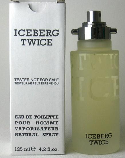 Iceberg Twice pour Homme, Toaletní voda - Tester, 125ml, Pánska vôňa
