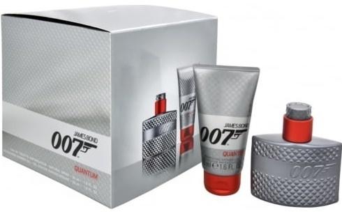 James Bond 007 Quantum, toaletní voda 30ml + sprchový gel 50ml, Dárková sada