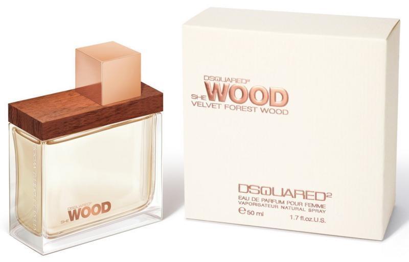 Dsquared2 She Wood Velvet Forest Wood, Parfémovaná voda, 50ml, Dámska vôňa