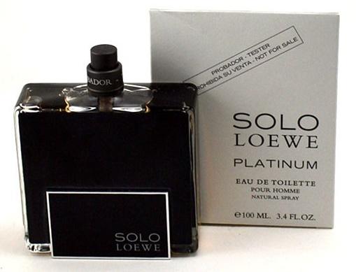 Loewe Solo Platinum, 100ml, Toaletní voda - Tester