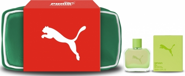 Puma Green Man, Dárková sada, toaletní voda 40ml + taška, Pánska vôňa