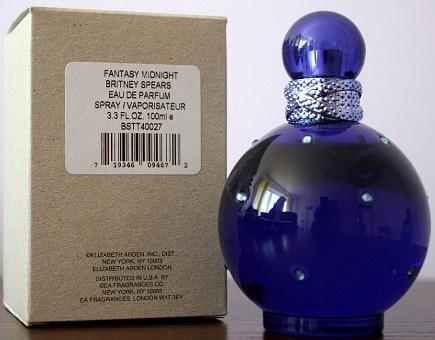 Britney Spears Midnight Fantasy, 100ml, Parfémovaná voda - Tester